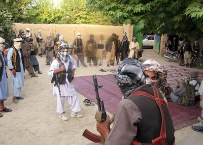 Тактика действий афганских мятежников — часть II