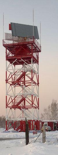 ТРЛК ДН «Сопка-2» на позиции в г. Киренске