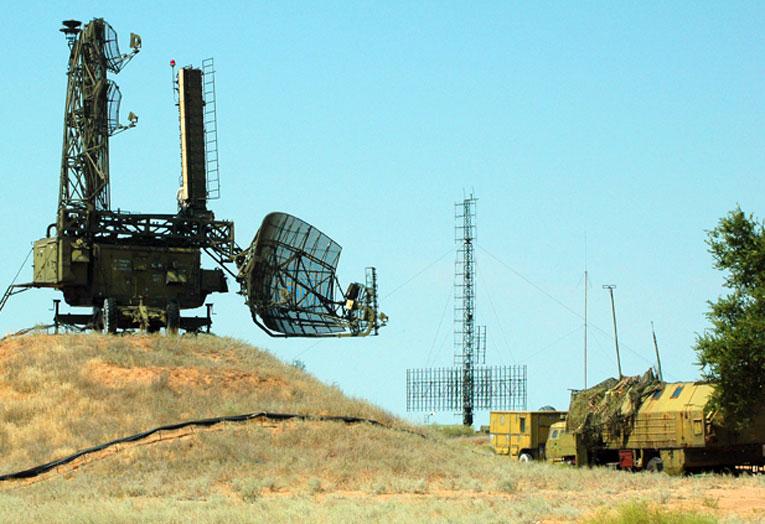 Радиолокационный комплекс для горных позиций