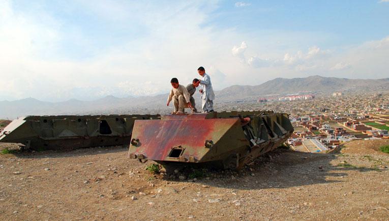 Афганистан, сентябрь-октябрь 1983 г.